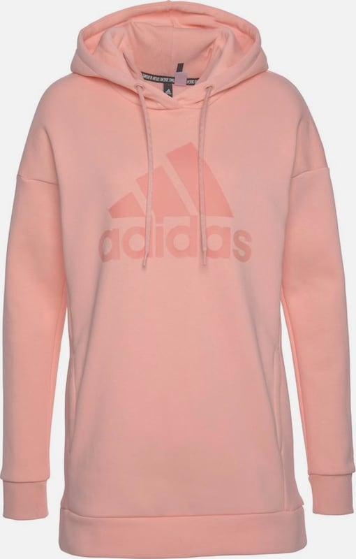 ADIDAS PERFORMANCE Sweatshirt 'Must Haves Badge' in rosa / altrosa, Produktansicht