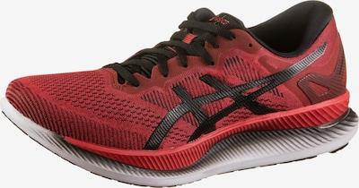 ASICS Laufschuhe 'Glideride' in rot / schwarz, Produktansicht