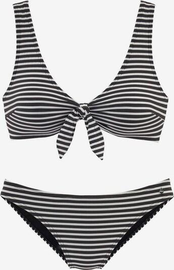 s.Oliver Bikini en noir / blanc, Vue avec produit