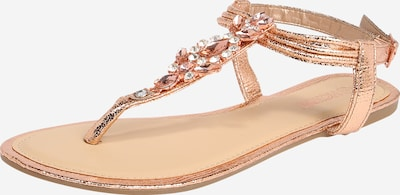 Hailys T-bar sandals ''Ashley' in Rose gold, Item view