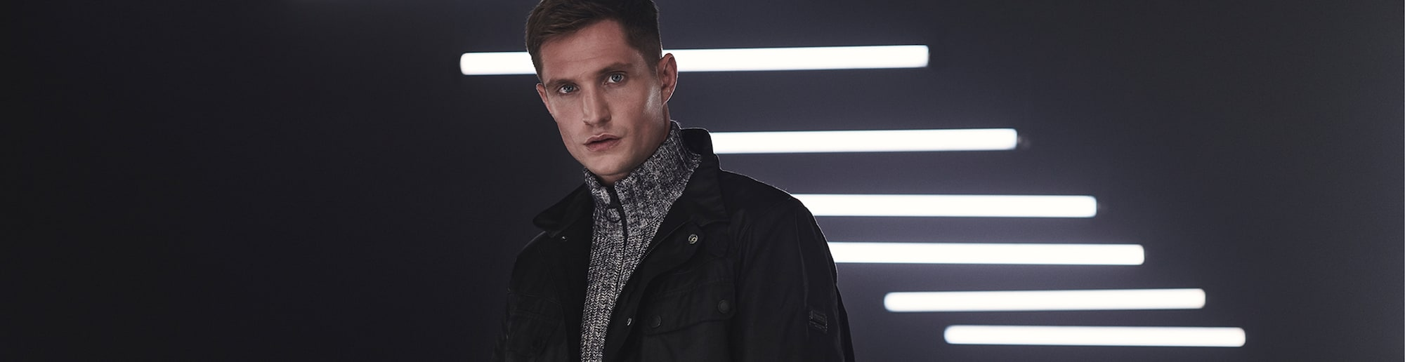 Barbour International Markenheader