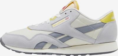 Reebok Classic Sneakers laag 'Classic Nylon' in de kleur Geel / Grijs: Vooraanzicht