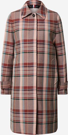 TOMMY HILFIGER Mantel 'TESS COTTON BLEND CHECK MAC' in mischfarben / pink, Produktansicht