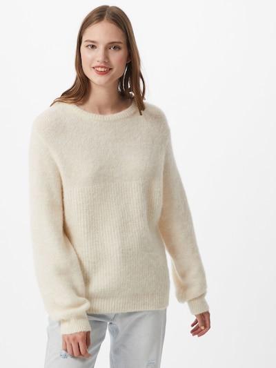 AMERICAN VINTAGE Sweter 'EAST' w kolorze kremowym: Widok z przodu
