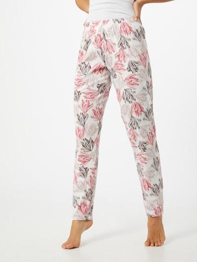 CALIDA Pantalon de pyjama en rose / rose / blanc naturel: Vue de face