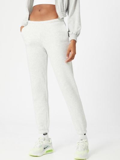 Gina Tricot Pantalon en gris chiné, Vue avec modèle