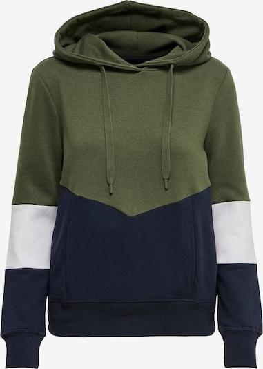 ONLY Sweater majica u morsko plava / kaki / bijela, Pregled proizvoda