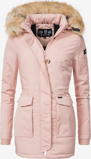 NAVAHOO Wintermantel 'Schneeengel' in rosa, Produktansicht