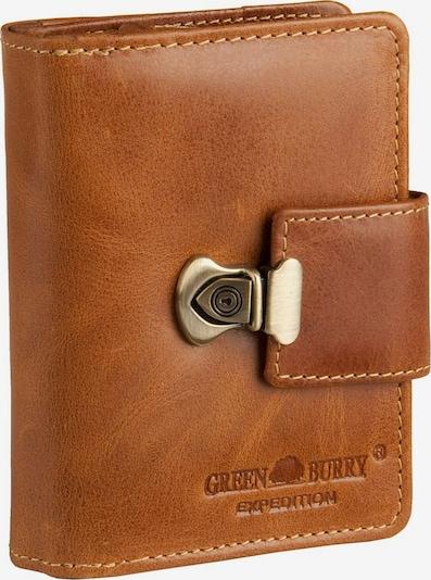 GREENBURRY Geldbörse in cognac, Produktansicht