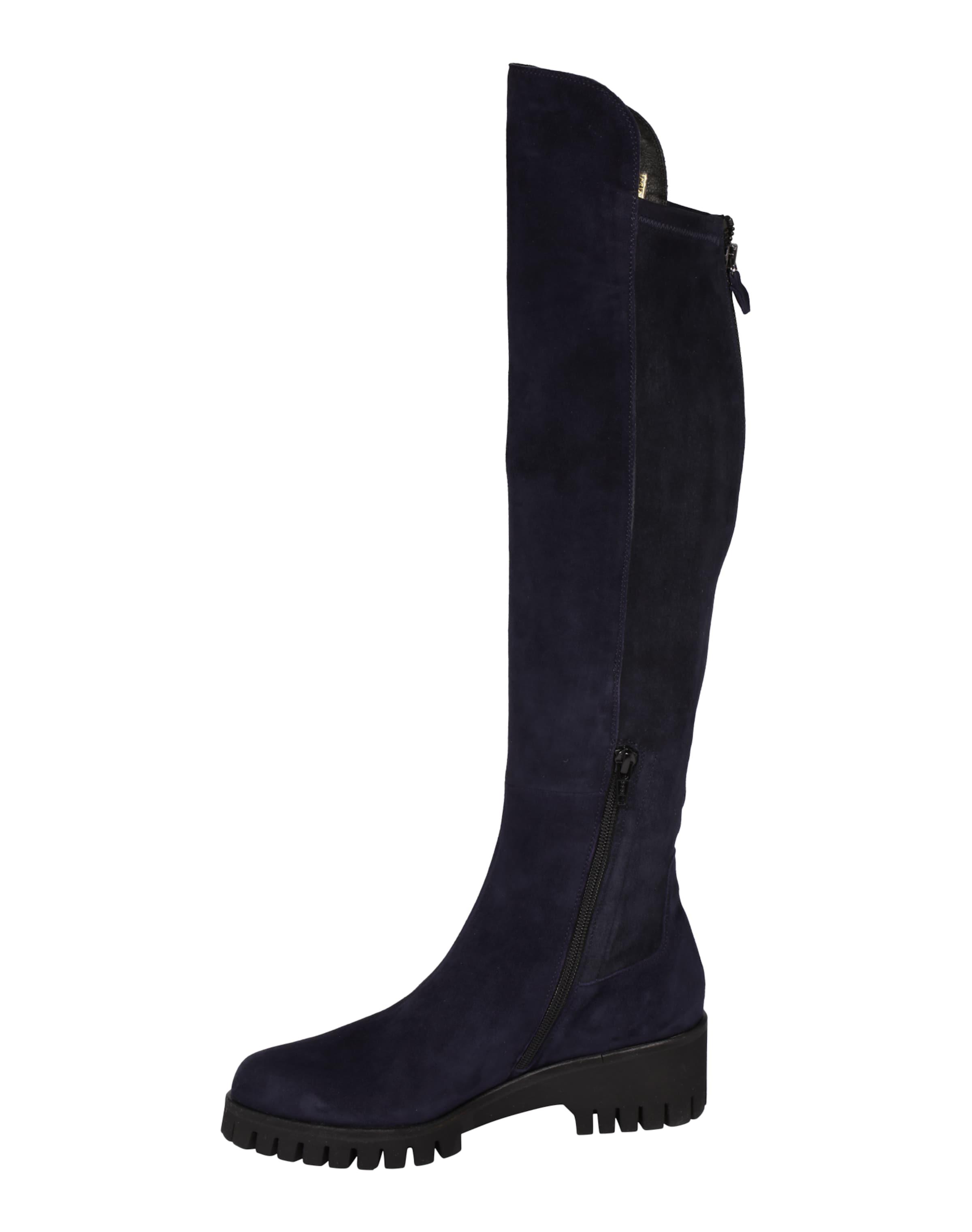 Donna Carolina Overknee-Stiefel mit Reißverschluss-Detail Klassisch Echte Online Steckdose Neuesten VMlS22