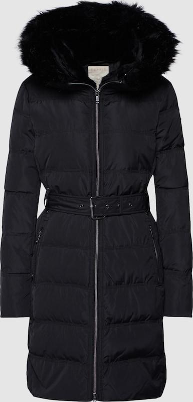 ESPRIT Mantel in schwarz  Große Preissenkung