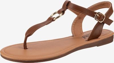 UNLIMITED Sandalen in braun, Produktansicht