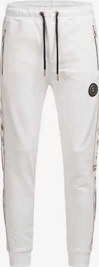 Redbridge Jogginghose in gold / weiß, Produktansicht
