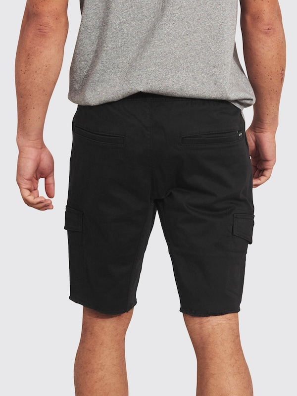 hollister shorts in schwarz about you. Black Bedroom Furniture Sets. Home Design Ideas