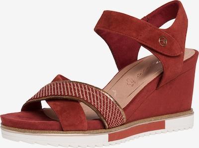 TAMARIS Strap sandal in rusty red, Item view