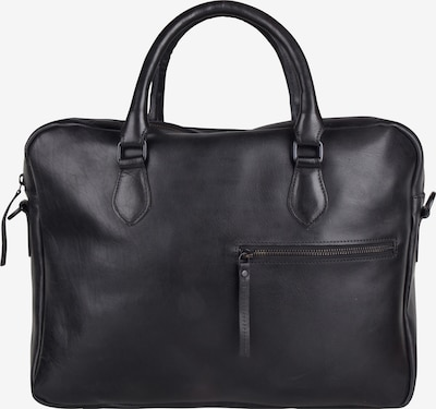 Presly & Sun Laptoptasche 'Detroit' in schwarz, Produktansicht