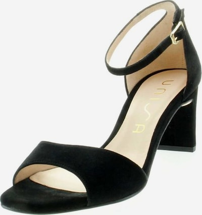 UNISA Sandaletten in schwarz, Produktansicht