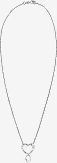 Diamore Ketting 'Herz, Infinity' in de kleur Zilver, Productweergave