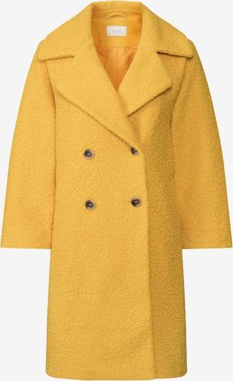 VILA Płaszcz przejściowy 'VIJESSI 7/8 SLEEVE COAT' w kolorze żółtym: Widok z przodu