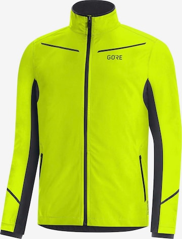 GORE WEAR Athletic Jacket 'R3 Infinium Partial' in Yellow
