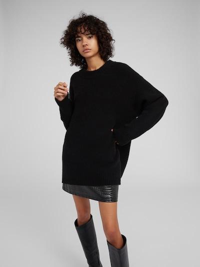EDITED Strickpullover 'Luca' in schwarz, Modelansicht