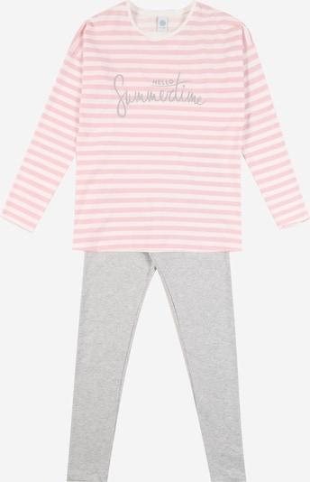 Pijamale SANETTA pe gri / roz, Vizualizare produs