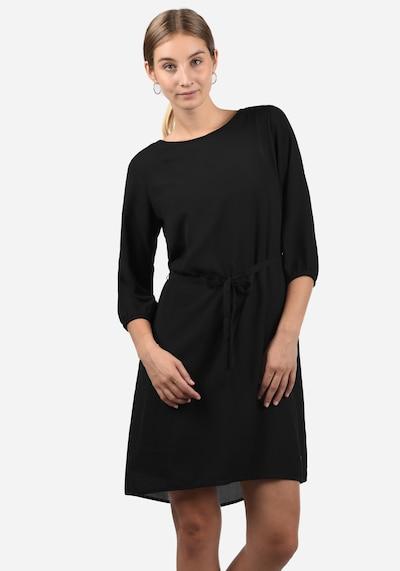 Blend She Blusenkleid 'Beate' in schwarz: Frontalansicht