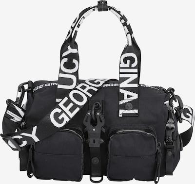 George Gina & Lucy Handtasche 'Zoomy' in schwarz / weiß, Produktansicht