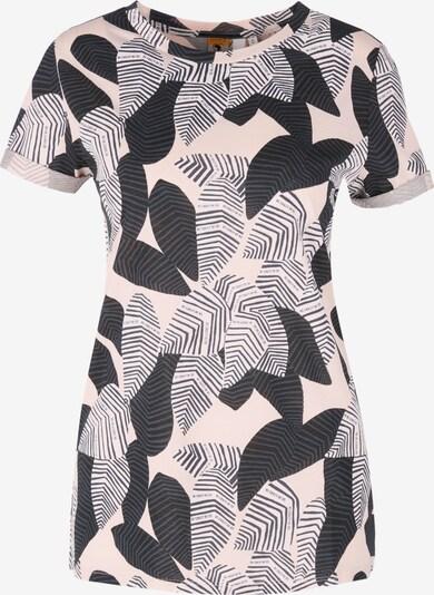 Q/S designed by Shirt in pink / schwarz, Produktansicht