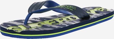 Superdry Zehentrenner 'SCUBA CAMO' in navy / grün, Produktansicht