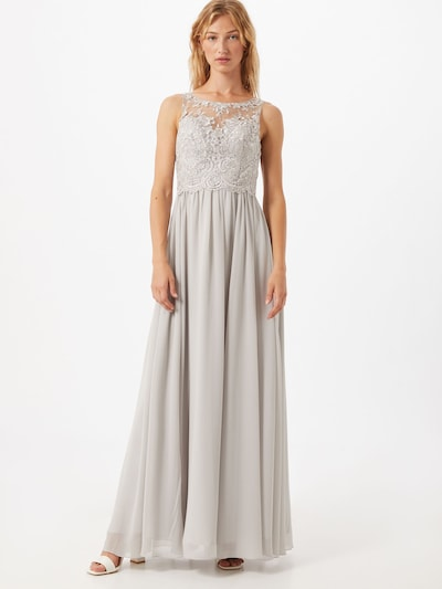 Laona Kleid in grau, Modelansicht