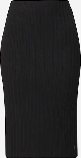 Calvin Klein Jeans Jupe en noir: Vue de face