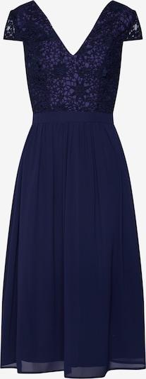 Chi Chi London Avondjurk 'Halsey' in de kleur Navy, Productweergave