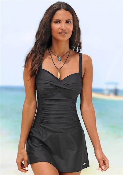 LASCANA Swimsuit Dress in Black, View model