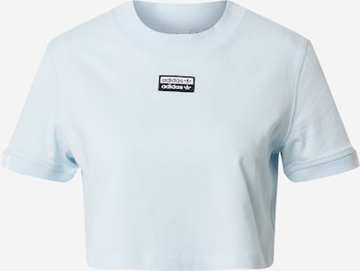 ADIDAS ORIGINALS T-shirt en bleu, Vue avec produit