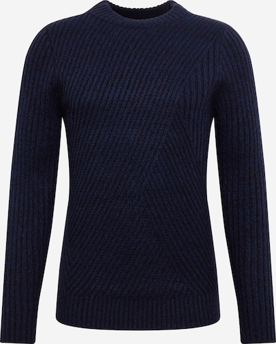 BURTON MENSWEAR LONDON Trui 'VALBY' in de kleur Navy, Productweergave