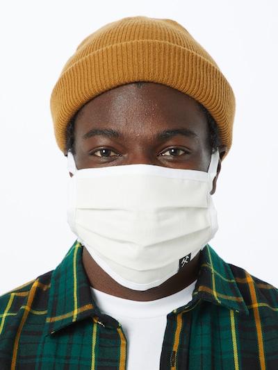 Grubenhelden Stoffmasken '5er Pack' in weiß: Frontalansicht