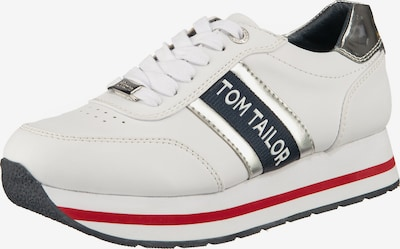 TOM TAILOR Sneaker in weiß, Produktansicht