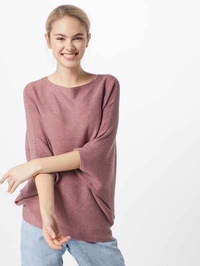 JACQUELINE de YONG Pull-over en rose ancienne, Vue avec modèle