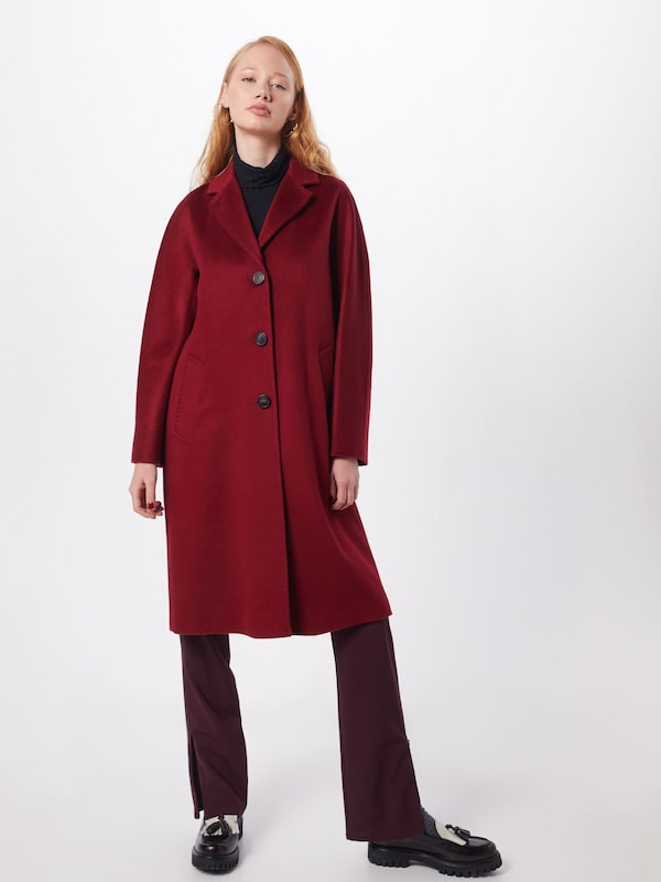 Weekend Max Mara Mantel 'FUNALE' in rot, Modelansicht