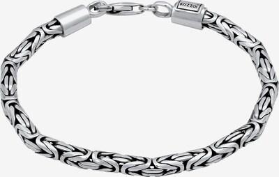 KUZZOI Armband ' Königskette' in silbergrau, Produktansicht