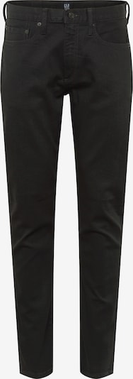 GAP Jean 'SLIM STR BLACK' en noir: Vue de face