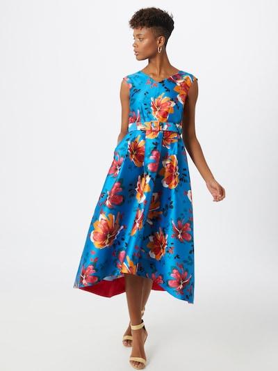 Closet London Společenské šaty 'Closet Gold' - světlemodrá / mix barev, Model/ka