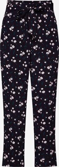 fekete mbym Élére vasalt nadrágok 'Amie': Elölnézet