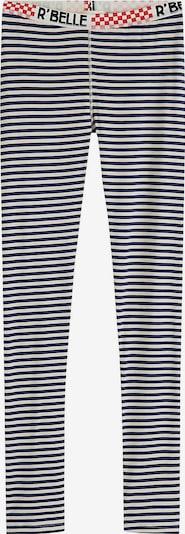 Scotch R'Belle Leggings in marine / hellrot / schwarz / weiß, Produktansicht