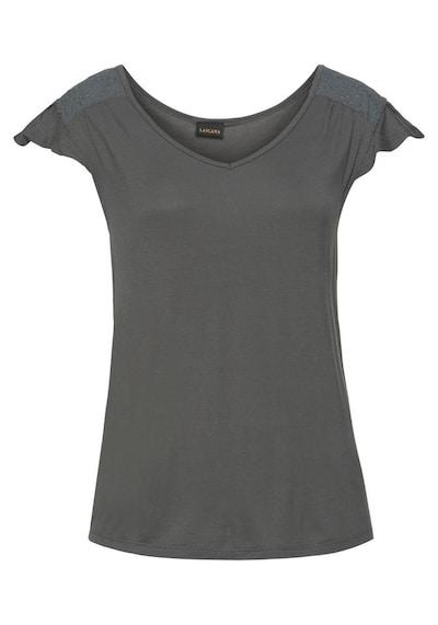 LASCANA Shirt in de kleur Kaki: Vooraanzicht