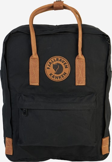 Fjällräven Rucksack 'Kånken No.2' in schwarz, Produktansicht