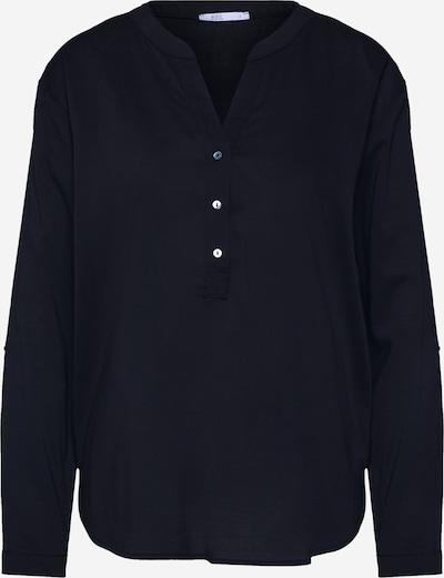 EDC BY ESPRIT Bluse 'Solid 60s CV/CO' in schwarz, Produktansicht