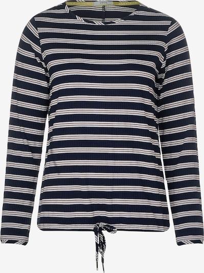 CECIL Shirt mit Querstreifen in blau / weiß, Produktansicht
