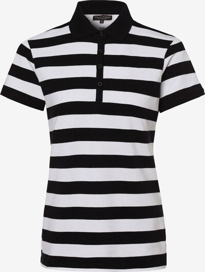 Marie Lund Poloshirt ' ' in schwarz / weiß, Produktansicht